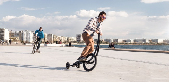 Halfbike II, le nouveau vélo urbain