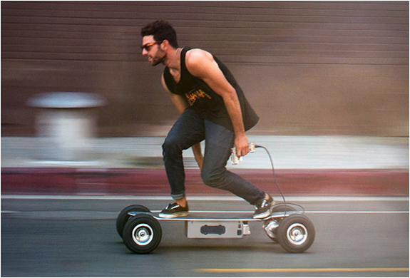 skateboard electrique e-glide powerboard