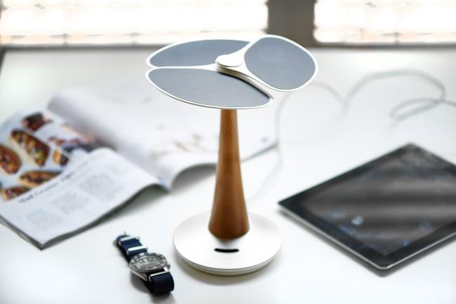 Chargeur de bureau solaire