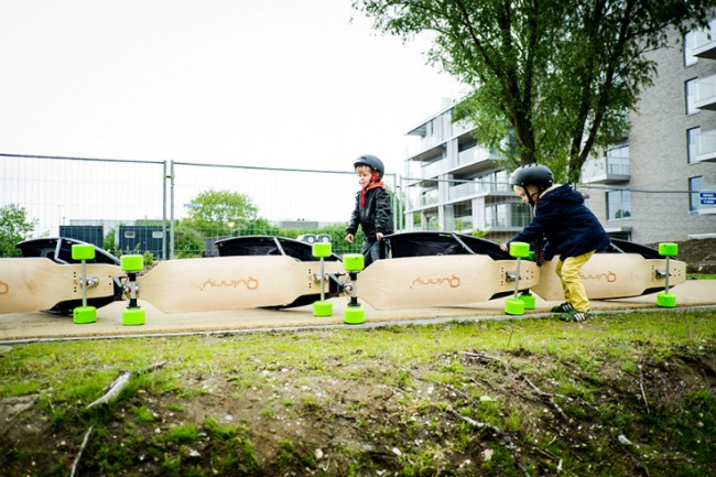 Poussette Skateboard