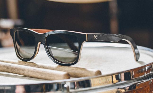 lunettes soleil shwood vinyle