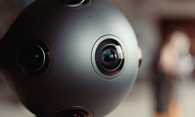 Camera virtuelle 3D Nokia Ozo