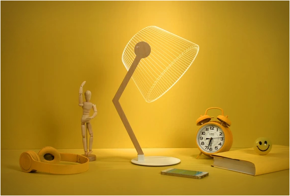Lampe ambiance 3D