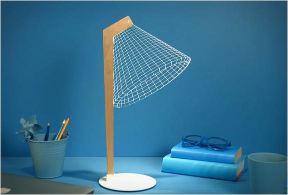 Lampe de bureau design 3D
