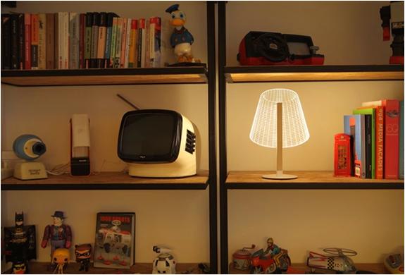 Lampe illusion optique 3D