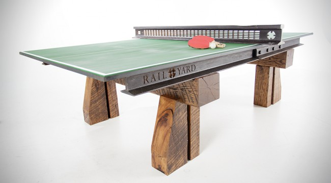 Table Ping-Pong Railyard