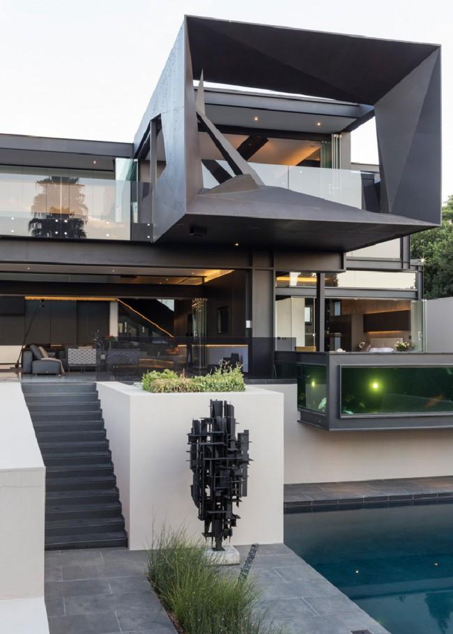 Maison structure acier