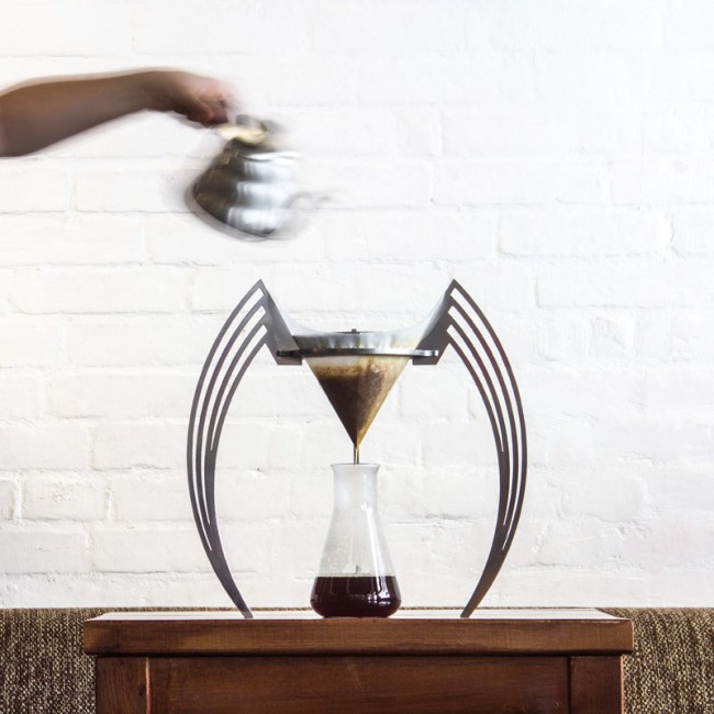 Cafetière design verre