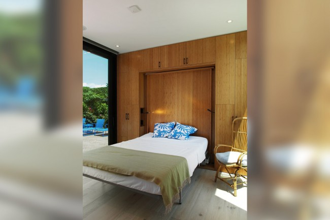 chambre avec lit pliable
