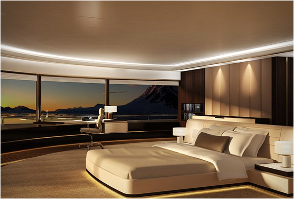 chambre luxe yacht