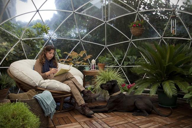 Igloo jardin cosy