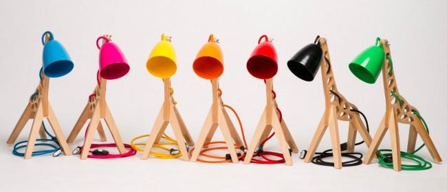lampe design leanter