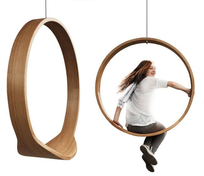 Rocking chair design bois