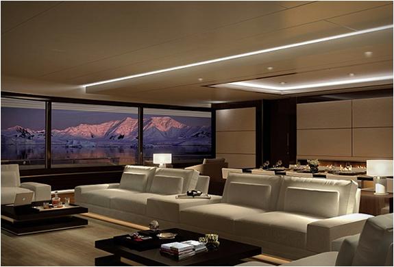 salon luxe yacht