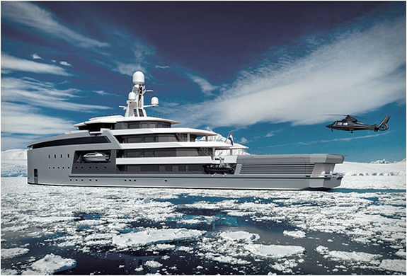 yacht adapte conditions extremes