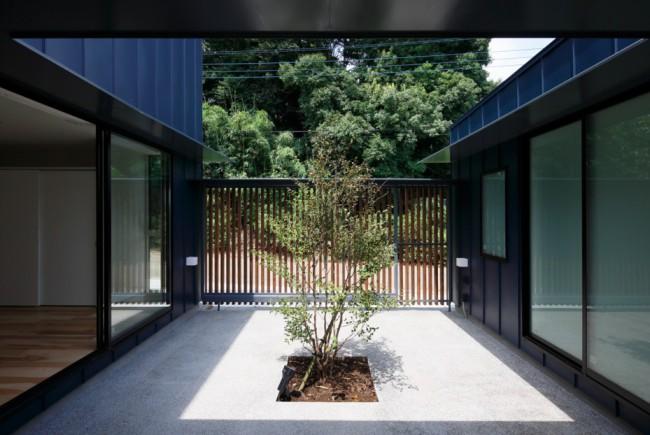 Cour intérieure style Japonais