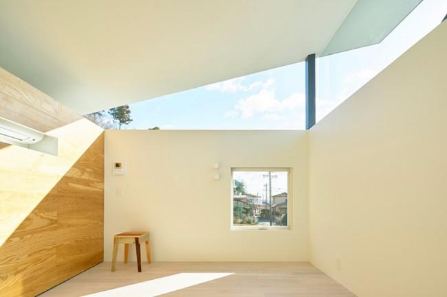 Intérieur fenêtres hautes