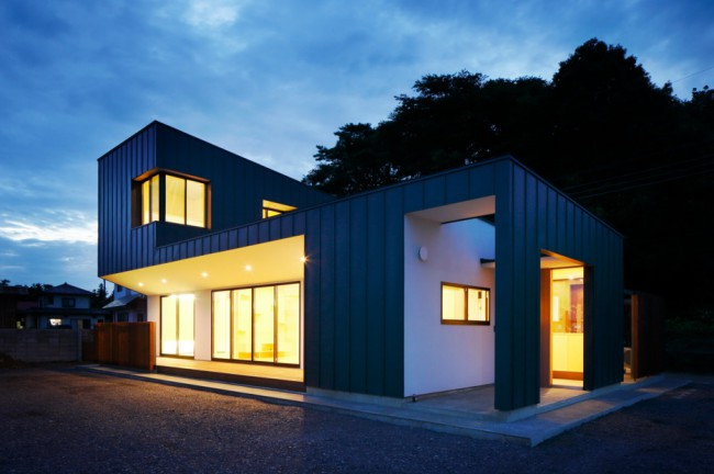Maison Façade galvanisée