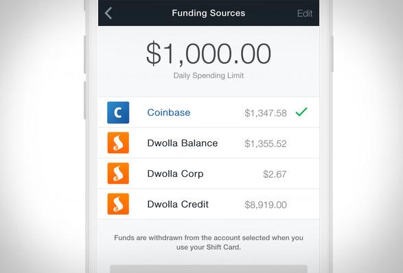 carte debit Coinbase