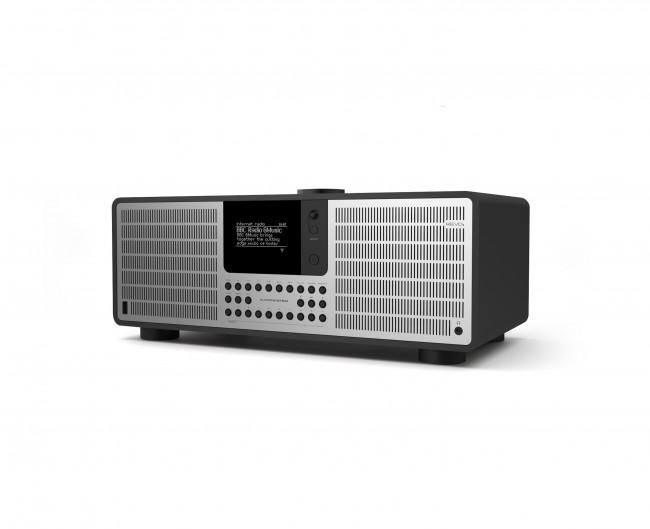 radio bois et aluminium