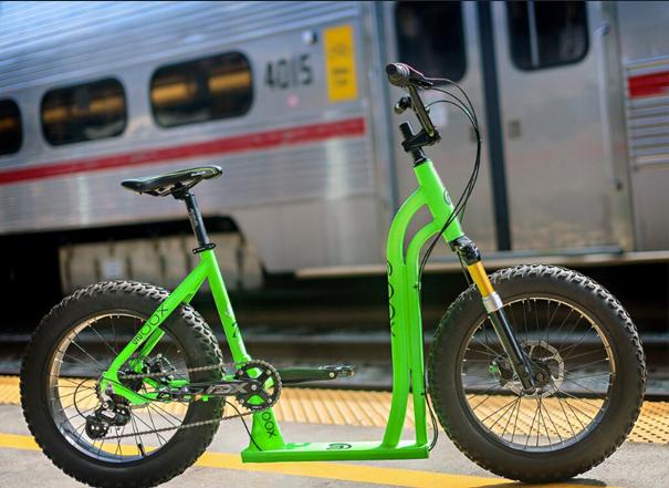 Vélo urbain gros pneu