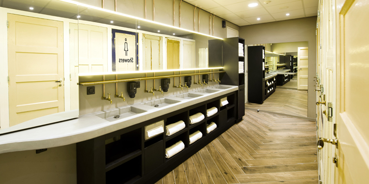 Salle de bain CityHub Amsterdam