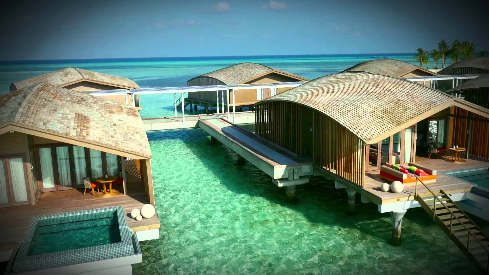 Villa avec piscine privé maldives