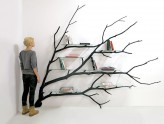 Etagere design arbre