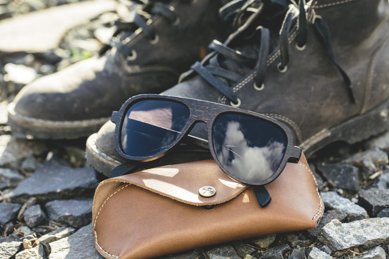 lunettes soleil shwood bois