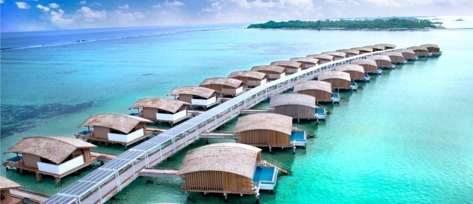 villas solaires maldives