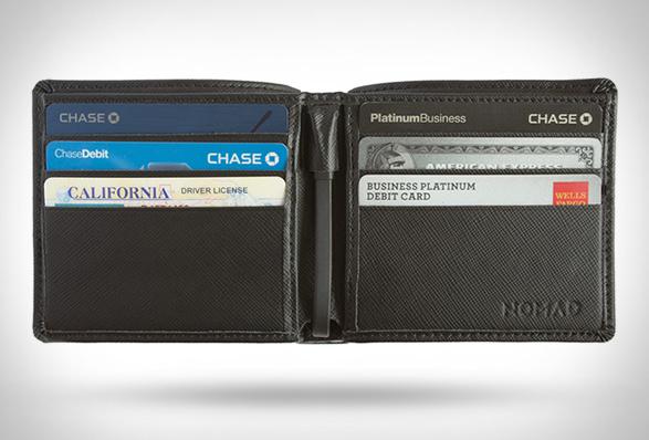 Portefeuille chargeur integre