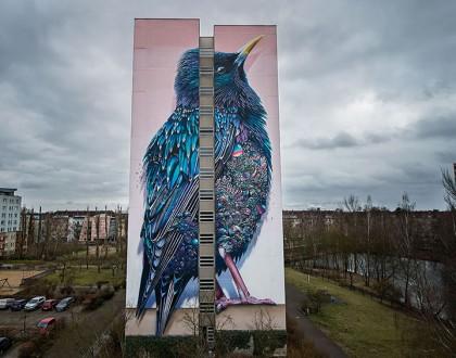 Peinture immeuble berlin