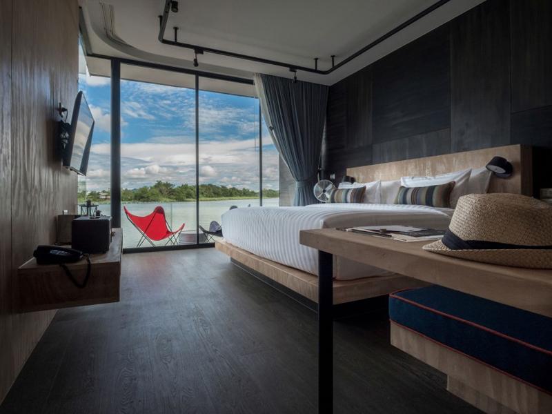 Maison flottante design