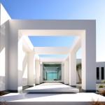 Entrée maison moderne