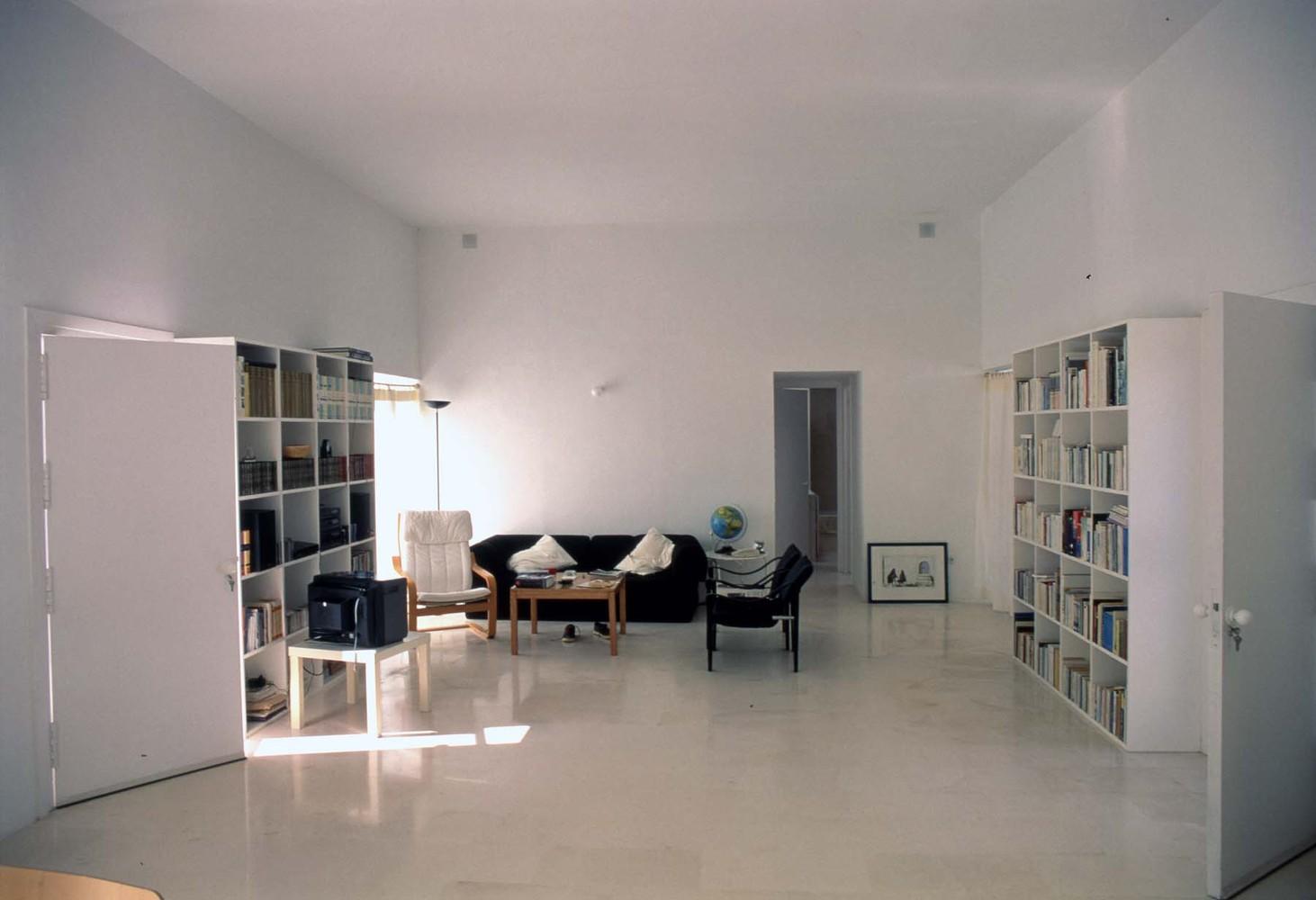 interieur blanc minimaliste