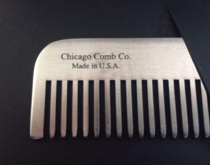 Peignes à barbe pour hipsters Chicago Comb