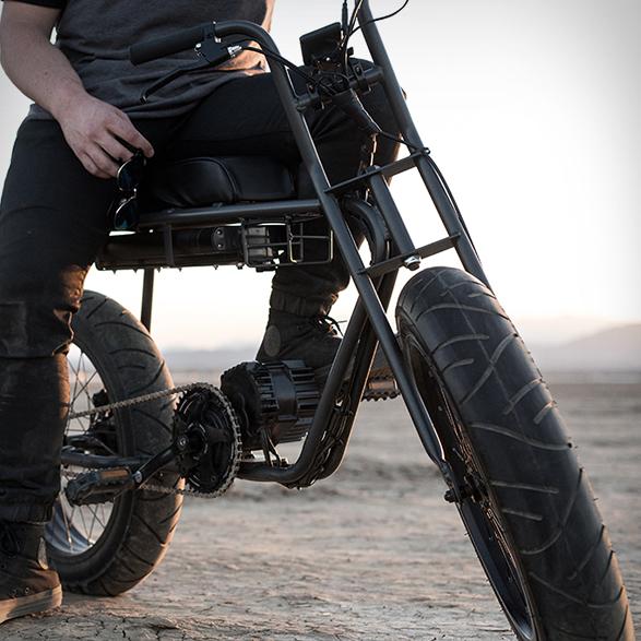 vélo électrique custom