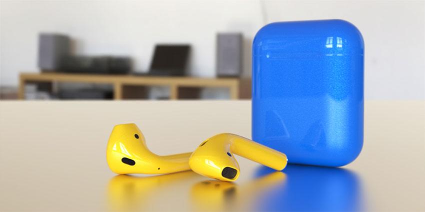 Airpods-jaune