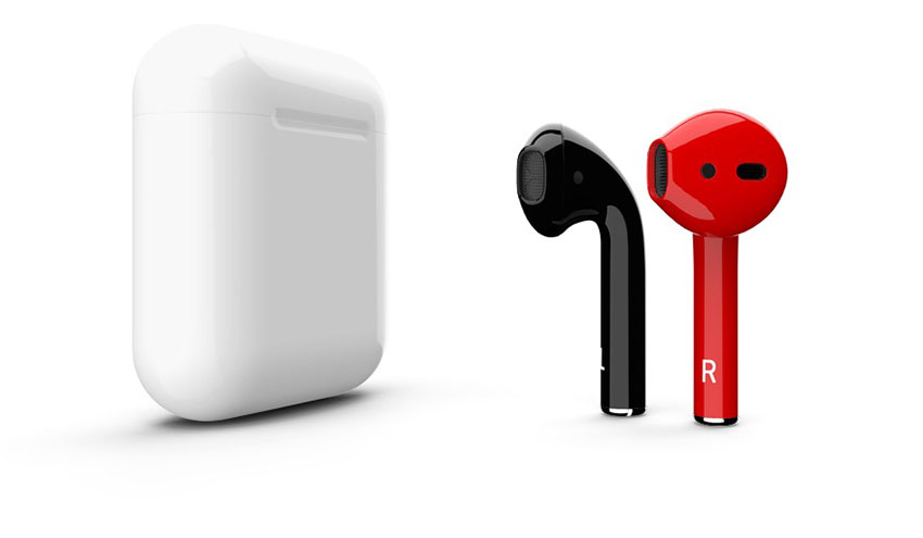 Airpods-rouge