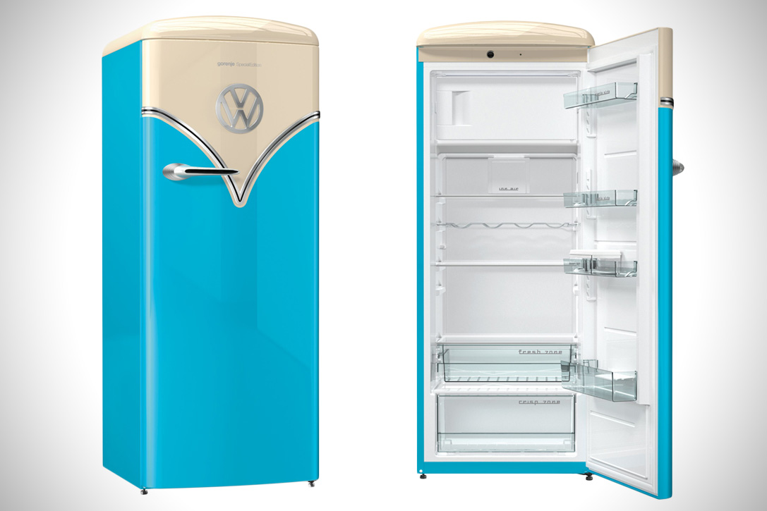 gorenje lance un frigo retro volkswagen. Black Bedroom Furniture Sets. Home Design Ideas
