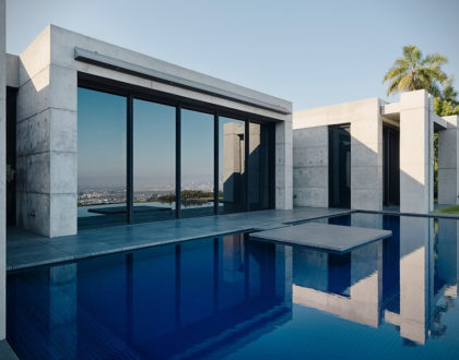 maison-beton-piscine