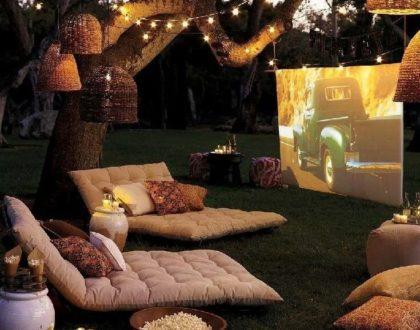 cinema en plein-air a la maison